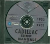 1952 1953 CADILLAC SHOP/BODY MANUAL ON CD