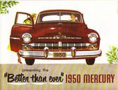 1950 MERCURY SALES BROCHURE