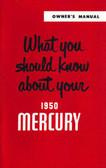 1950 MERCURY OWNERS MANUAL