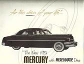 1951 MERCURY SALES BROCHURE