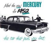 1952 MERCURY SALES BROCHURE