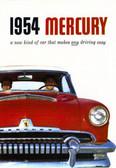 1954 MERCURY SALES BROCHURE