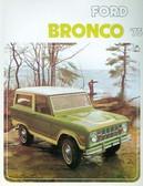 1975 FORD BRONCO SALES BROCHURE