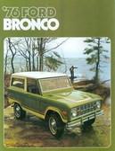 1976 FORD BRONCO SALES BROCHURE