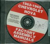 1962 63 64 65 CHEVY II/NOVA ASSEMBLY MANUAL ON CD