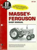 MASSEY-FERGUSON TRACTOR SHOP MANUAL- MF65, MF85, MF88, MF1100, MF1130, & MF1085