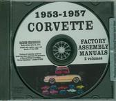 1953 54 55 56 57 CORVETTE ASSEMBLY MANUAL ON CD