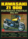 1972 73 74 75 76 77 KAWASAKI Z1 900 MUSCLE PORTFOLIO