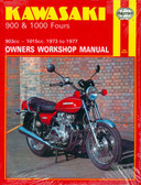1973 74 75 76 77 KAWASAKI Z1 Z900 KZ900 Z1000 KZ1000 SHOP MANUAL