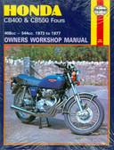 1973 74 75 76 77 HONDA CB400 & CB550 FOURS SHOP MANUAL