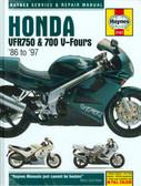 1986 87 88 89 90 91 92 93 94 95 96 97 HONDA VFR750/ 700 V- FOURS SHOP MANUAL