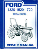 1320 1520 1720 FORD TRACTOR SHOP MANUAL-OVER 400 PAGES