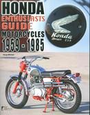 1959 60 61 62 63 64 65 70 72 73 75 79 80 81 82 83 84 85 HONDA MOTORCYCLES GUIDE