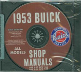 1953 BUICK SHOP/BODY MANUAL ON CD-ALL MODELS