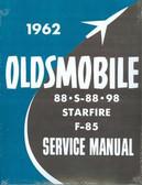 1962 OLDSMOBILE 88/S-88/98/F-85/STARFIRE SHOP MANUAL
