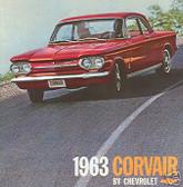 1963 CHEVY CORVAIR/MONZA SALES BROCHURE