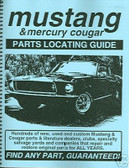 65 66 68 69 70 71 MUSTANG/MACH I PARTS LOCATING GUIDE