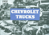 1935 CHEVROLET TRUCK SALES BROCHURE-FULL LINE
