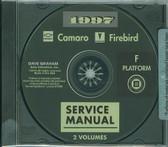 1997 CAMARO/FIREBIRD SHOP MANUALS ON CD