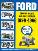 39 40 41 44 45 46 47 47 48 49 50 51 52 FORD TRACTOR PARTS/ ACCESS SALES BROCHURE