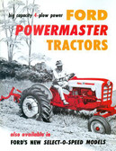 1957 1958 1959 60 61 62 FORD TRACTOR 801 901 SALES BROCHURE