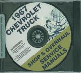 1967 CHEVROLET TRUCK FACTORY SHOP & OVERHAUL MANUAL ON CD