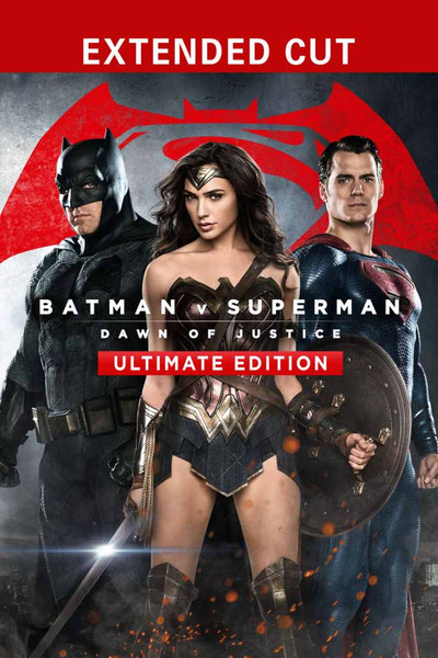 Batman v Superman:  Dawn of Justice Ultimate Edition [UltraViolet HD or iTuns via Movies Anywhere]
