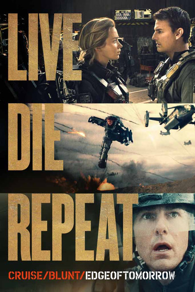 Live Die Repeat Edge of Tomorrow [UltraViolet HD or iTunes via Movies Anywhere]