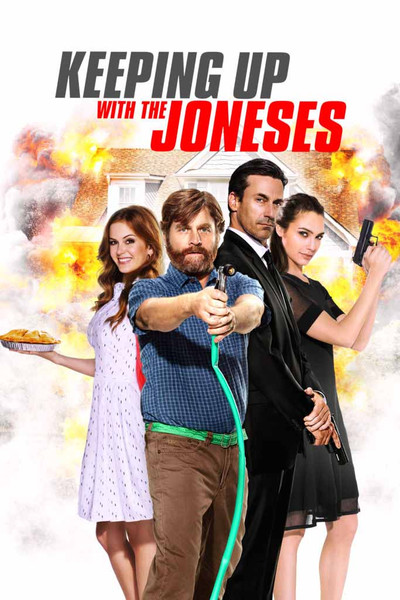 Keeping Up with the Joneses [UltraViolet HD]