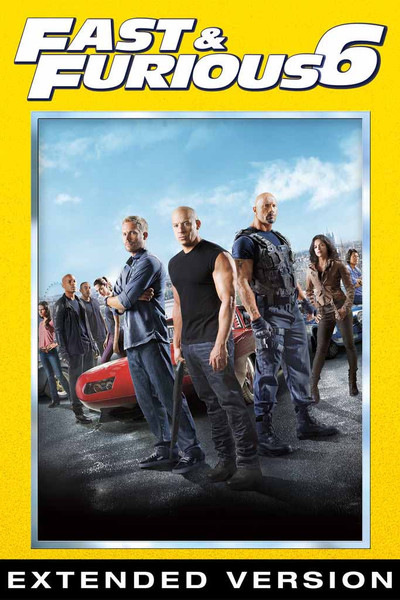 Fast and Furious 6 (Extended Version) [UltraViolet HD]