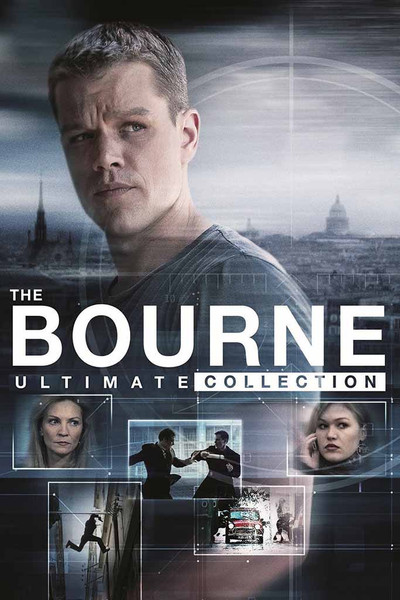 Bourne Ultimate 5 Movie Collection [UltraViolet HD]