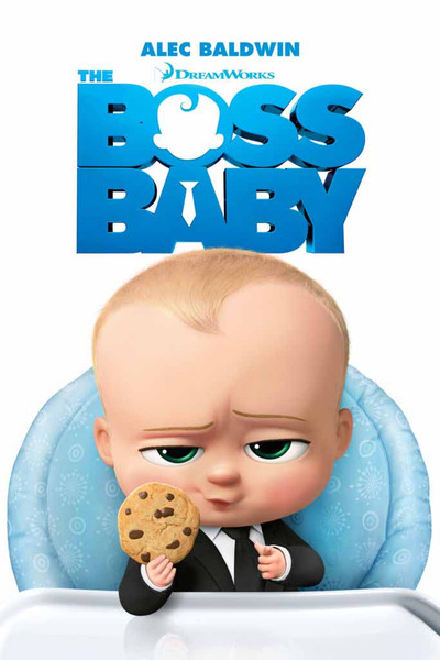 Boss Baby [UltraViolet HD or iTunes]