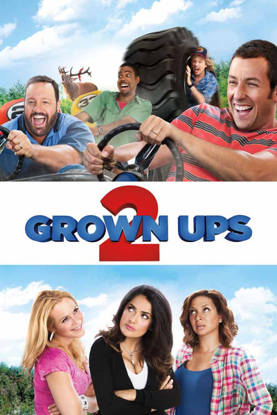 Grown Ups 2 [UltraViolet HD or iTunes via Movies Anywhere]