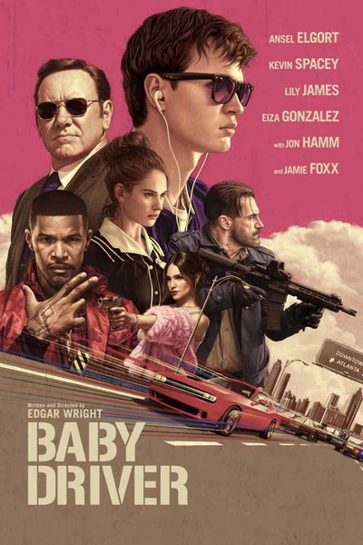 Baby Driver [UltraViolet HD or iTunes via Movies Anywhere]