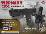 Tippmann TiPX Paintball Pistol Deluxe Kit Black