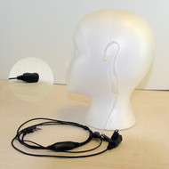Klutch Radio Acoustic Tube Earpiece Surveillance Headset