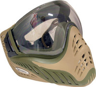 V-Force Profiler SE Olive/ Tan Paintball Mask Goggles