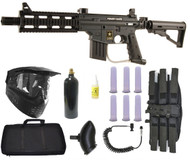 Tippmann US ARMY Project Salvo Paintball Gun SNIPER Set
