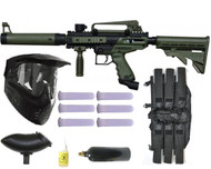 Tippmann Cronus Tactical Paintball Gun Mega Set - Olive