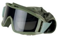Valken Airsoft Goggles Tango Olive
