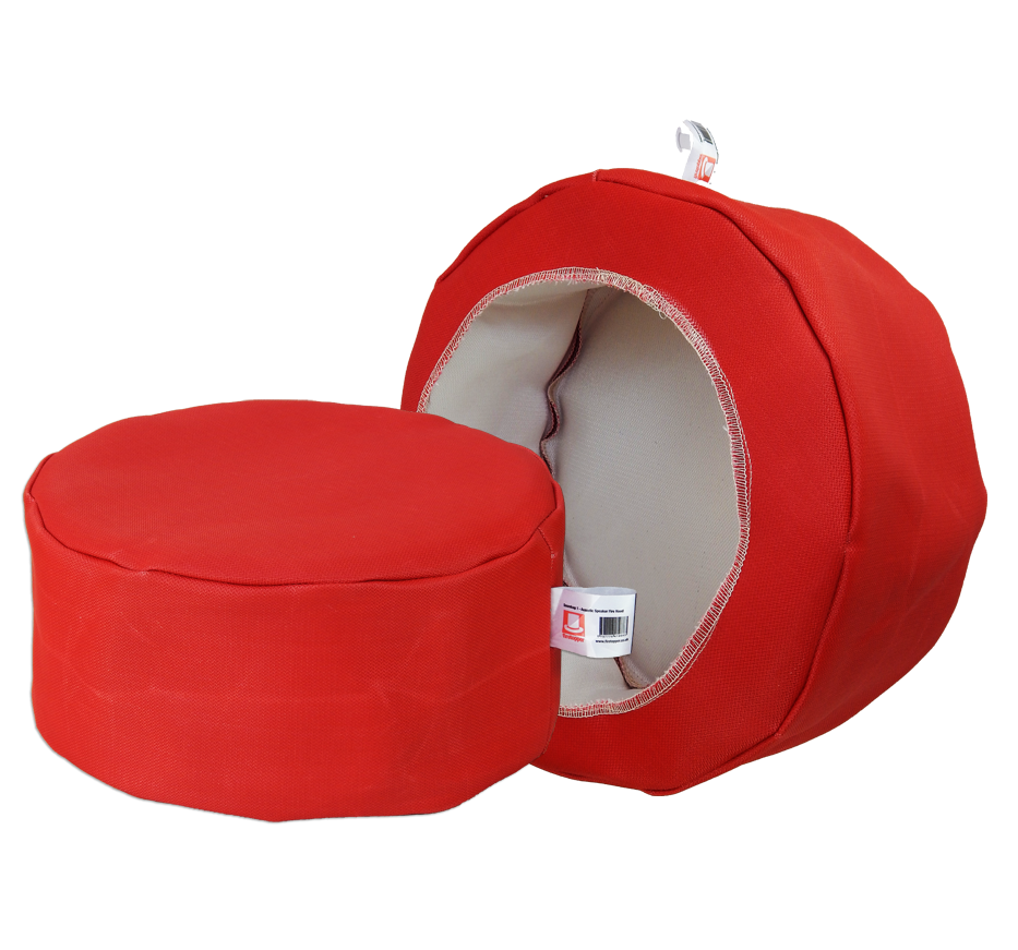 Firetopper Pro - Acoustic Speaker Fire Hood