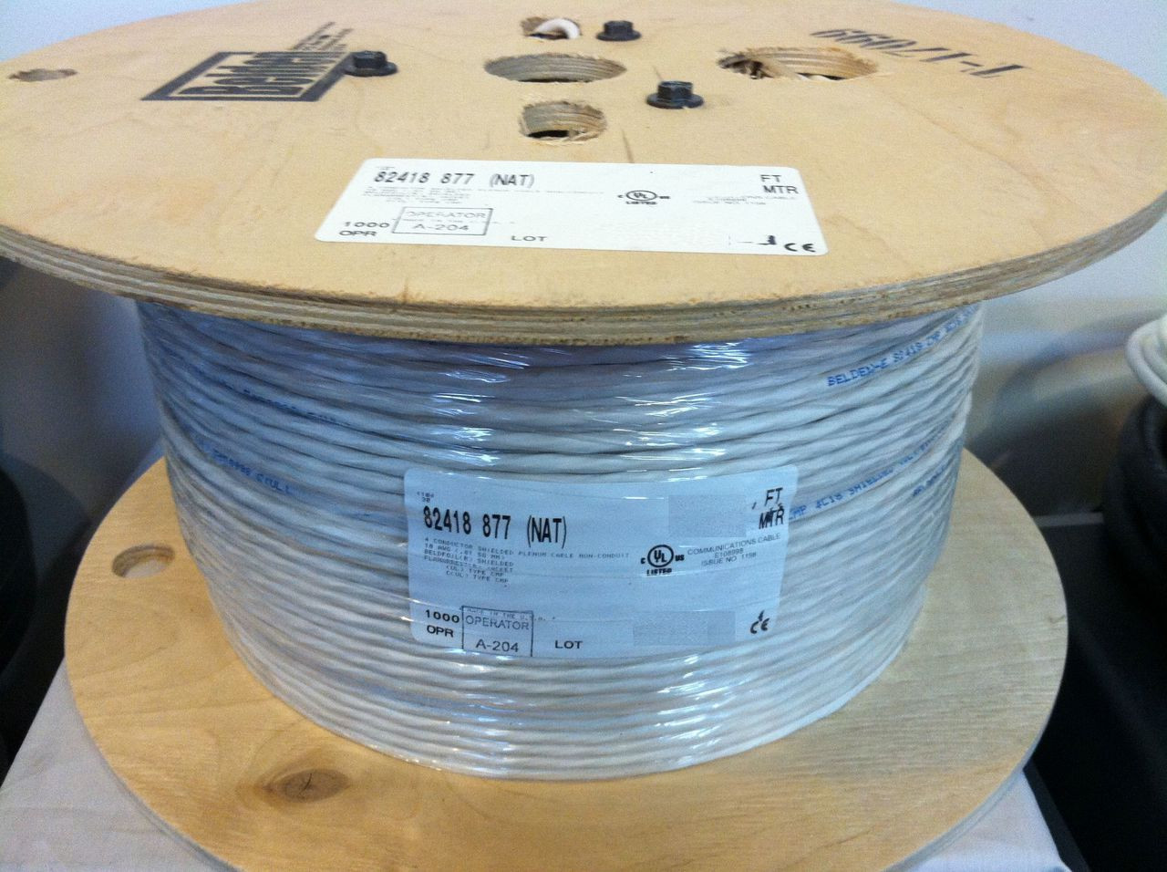 Belden 82418 Cable 4C Shielded AWG 18 Control Audiophile Wire 18/4 ...