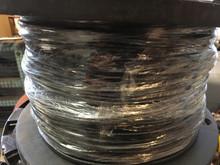 Radix 8M-1201-02 Gauge 12 Silicone Rubber Insulation Wire 600V Black 1x500 Feet