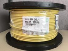 Belden 1351A 004 Yellow CAT6 Horizontal, 4pr, F/UTP, PVC CMR 1000FT