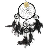 Large Dreamcatcher with Mini Hoops