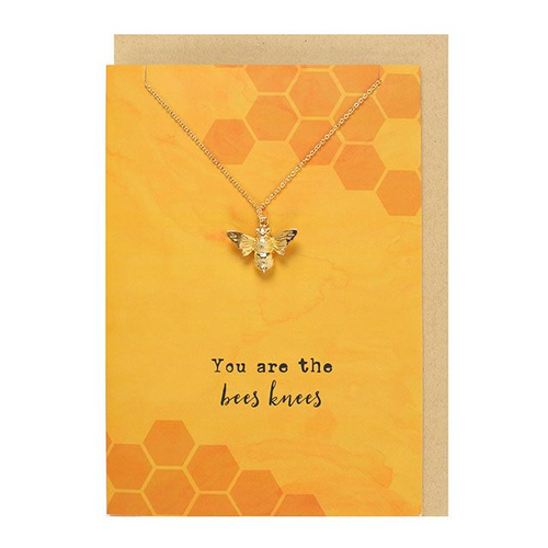 You are the bees knees Necklace and Card Set