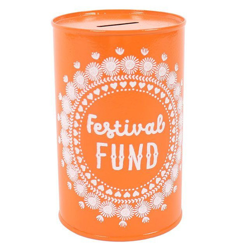 Festival Fund Money Tin
