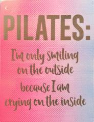 Pilates Fridge Magnet