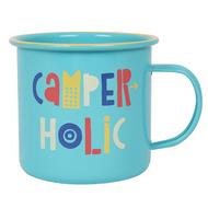 Camperholic Enamel Mug