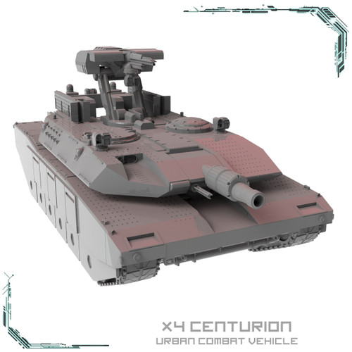 X4 Centurion Urban Combat Vehicle